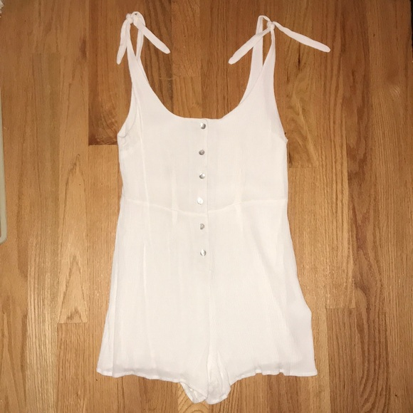Urban Outfitters Pants - Urban Outfitters White Romper